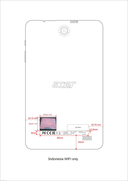 Acer Iconia One 8 (2018)