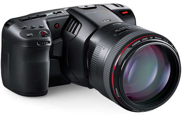 Анонс камеры Blackmagic Pocket Cinema Camera 6K