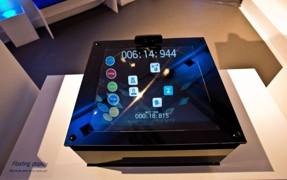 Intel Floating display