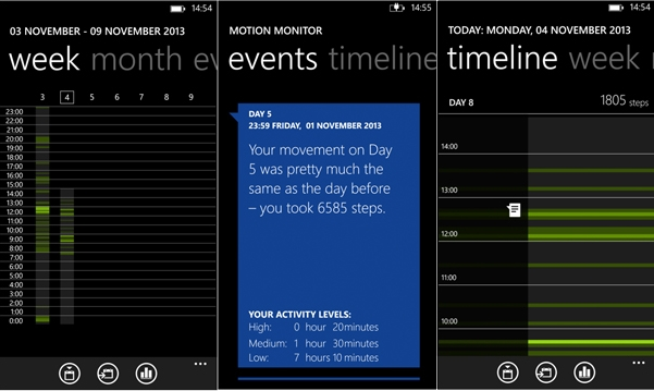 Nokia Motion Tracker beta