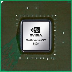 nVidia GeForce GT640M