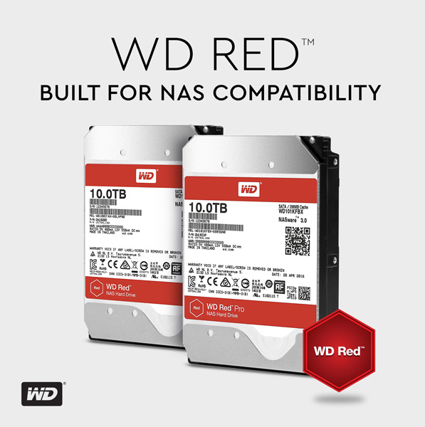 WD Red и WD Red Pro